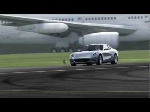 Ferrari 612 Scaglietti Top Gear Track
