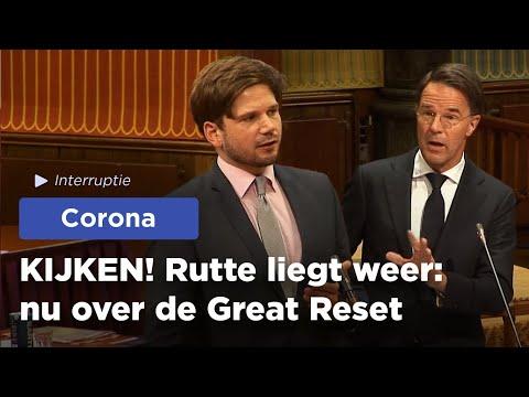 KIJKEN! Gideon van Meijeren ontmaskert LEUGENAAR Rutte!