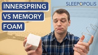 Innerspring vs Memory Foam Mattresses - Which Is Better For You?