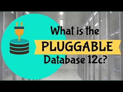What is the Pluggable Database in Oracle 12c