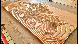 Royal design Bed Decorate House Wood Curving Amazing  Design Idea   Perfect creative Bed design