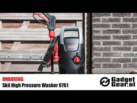 Unboxing & Using: Skil High Pressure Washer 0761