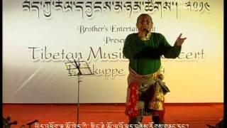 Tibetan Musical Concert - BYLAKUPPE, 2014 Tibetan Song Nyingjhae Mo La