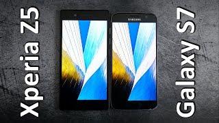 Xperia Z5 vs. Galaxy S7 | edgy vs. curvy