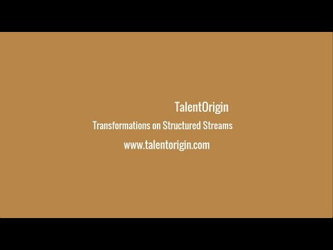 Transformations on Structured Streams - Spark 2