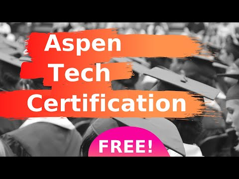 Getting Aspen Plus & HYSYS Certification for FREE - YouTube