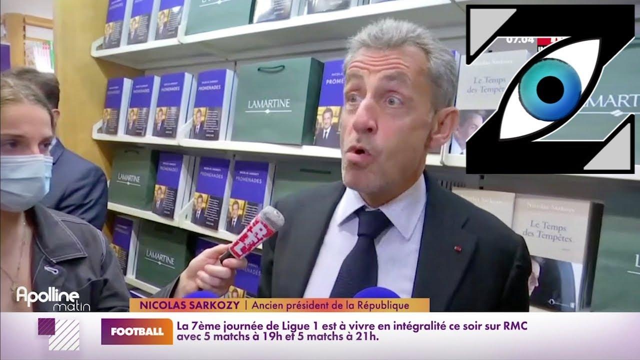 [Zap Actu] Nicolas Sarkozy s'exprime sur la crise des sous-marins et sur Zemmour(23/09/21)