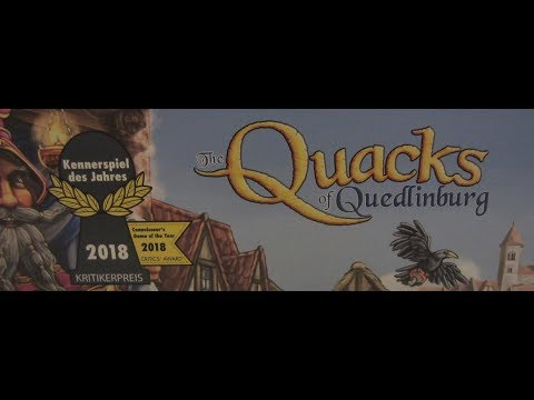 To the Table: The Quacks of Quedlinburg Review