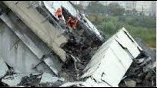 "Breaking ""Italy Bridge Collapse 39 Dead"" Cataclysmic Event"