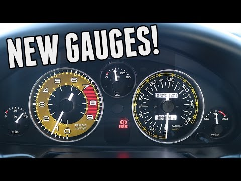 Custom RevLimiter Gauges & Other Interior Upgrades! || Turbo Miata Build (Part 7)