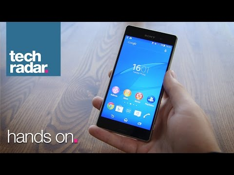 Sony Xperia Z3 Hands-on Review