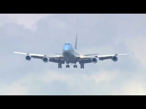 WATCH: The Most Impressive Air Force One Landing You'll Ever See