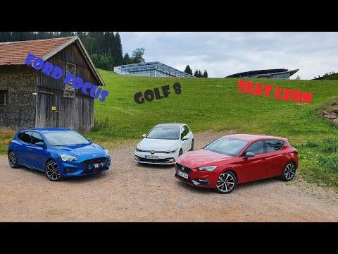 Vergleich!| Der 2020 Seat Leon gegen den 2020 Golf 8 und 2020 Ford Focus - Review, Fahrbericht, Test