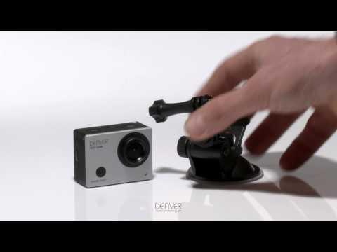 Denver ACT-5030W Wi-Fi Action Kamera med fjernbetjening video