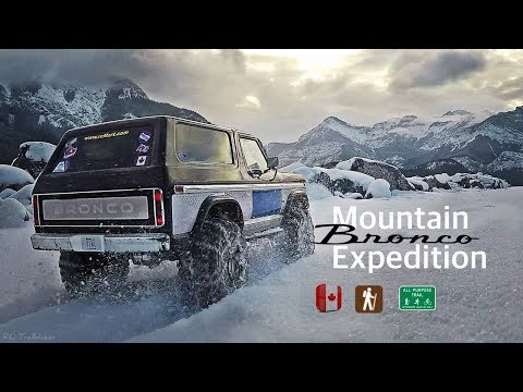 Cinematic Mountain Expedition | CANADA - RC Trailblazer
