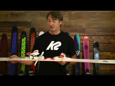 K2 Luv Struck 80 with ERC3 10 System Skis - Women's