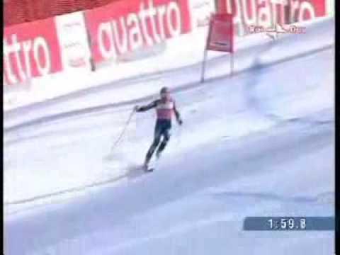 סקי אלפיני - רגע השיא של בודי מילר!