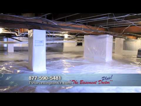 Get Rid of Crawl Space Mold and Moisture | Crawl Space Encapsulation