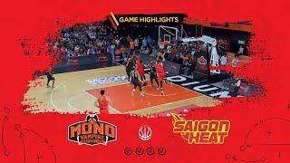Highlights ABL9 || Away - Game 22: Mono Vampire vs Saigon Heat 06/03