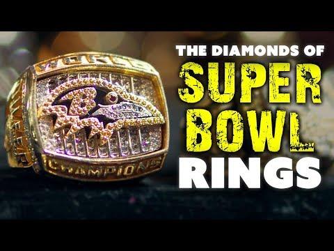The Diamonds & Gems of Super Bowl Rings