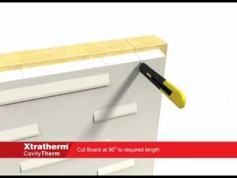 Xtratherm CavityTherm, Detailing