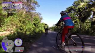 preview picture of video 'VIRB0077   Koh Chang Marina to East side of Seashore   28 Dec 2014'