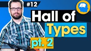 Hall of Types continued: How to find Jesus in the OT pt12