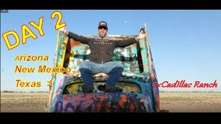 DAY 2: XC MOTOVLOG  Arizona to Texas