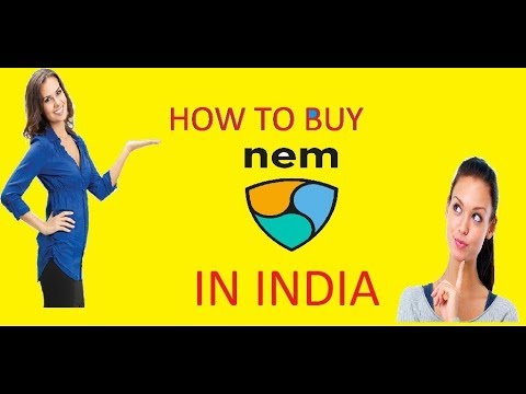 HOW TO BUY NEM COIN IN INDIA