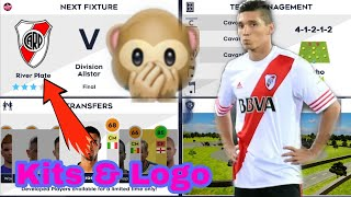Make River Plate Team Kit & Logo DLS 2021 | Dream League Soccer 2021 Kits & Logo