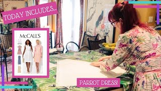 Daily Waffle 2020 :: Day 714 :: Butterick 6380 - Gorgeous Dress, Now With Bishop Sleeves