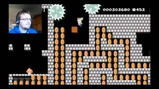 Slow-motion Batwomen: Super Mario Maker