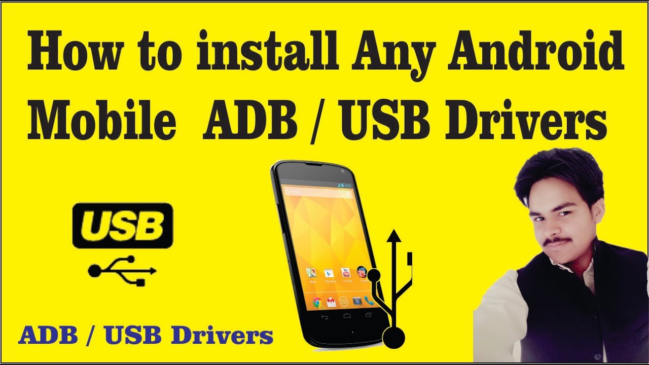 How to install Any Android Mobile ADB / USB Drivers in Urdu