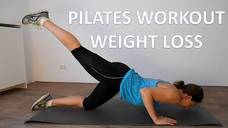 Pilates Workout For Weight Loss – 20 Minute Full Body Low Impact Pilates Workout by FitnessType