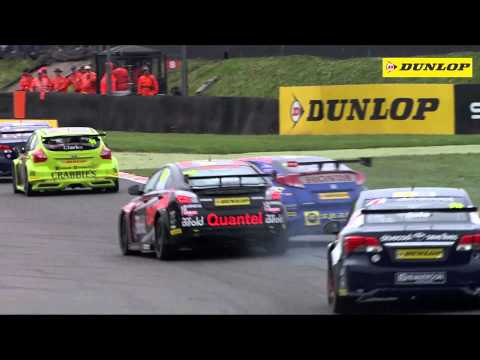 2014 Dunlop MSA British Touring Car Championship – highlights from Brands Hatch
