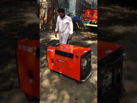 10 Kw Bajaj-M Ultra Compact Soundproof Petrol Generator