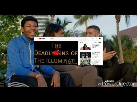 Truth about Drakes gods plan is evil Illuminati. Bad Reaction