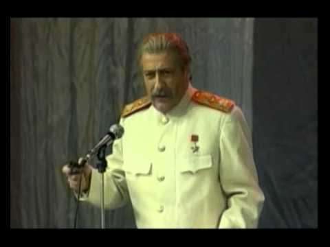Геннадий Хазанов – Сталин (пародия)