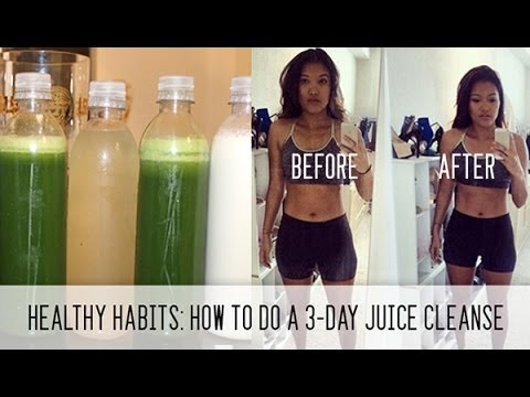 Video Healthy Habits: How to do a 3-Day Juice Cleanse