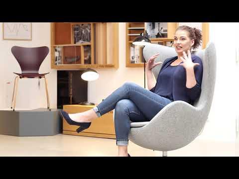 """Wie ein Ohrensessel, nur besser: """"Egg Chair"""" // Drifte Experten Team"""