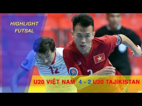 U20 FUTSAL VIỆT NAM GIÀNH CHIẾN THẮNG TRONG TRẬN ĐẦU RA QUÂN | AFC U20 FUTSAL