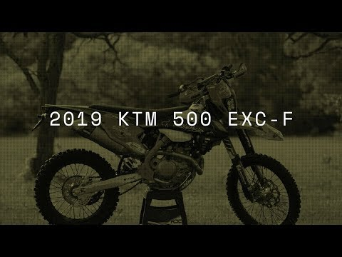 Two stroke guy rides a KTM 500 EXC-F for the first time