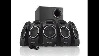 Creative A550 5.1 Surround Sound PC Speakers & Sound Test