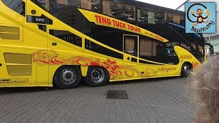 Автобусы, заброшенные машины, бассейн. МанкиТайм в Таиланде