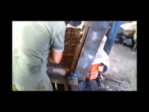 Как работают наши соседи конкуренты на производстве керамзитоблоков
