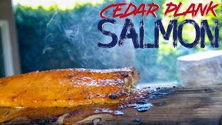 Maybe The Best Cedar Plank Salmon Ever   SAM THE COOKING GUY