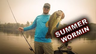 3 Ways To Fish A Worm For Bass This Summer