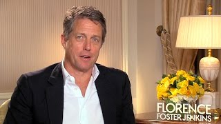 Hugh Grant Talks About His Role In Florence Foster Jenkins