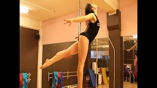 Free Online Pole Dance Lesson: The Titanic with Veronica Solimano