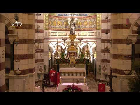 Messe du 28 décembre 2020 à Notre-Dame de la Garde